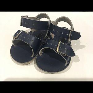 Navy Baby Salt Water Sandals